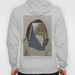 Long Haired Man Covered Face Spin Hoody