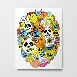 Halloween Print Metal Print