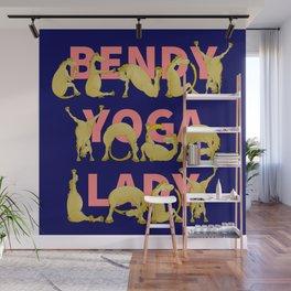 Yoga Pony Wall Mural