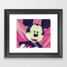 Mickey. Framed Art Print