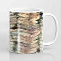herringbone Mugs featuring Herringbone by Janice MacDougall