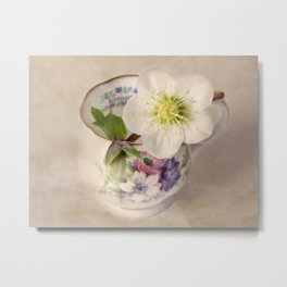 January Flower Metal Print