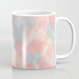 Floating Hearts Coffee Mug