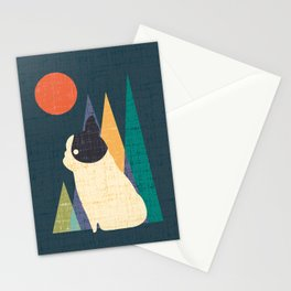Waiting for You French Bulldog Stationery Cards