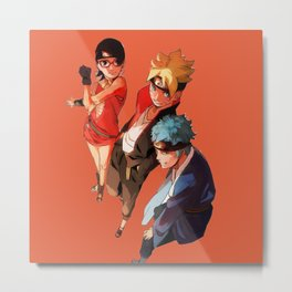 Boruto Sarada Mitsuki Great Metal Print