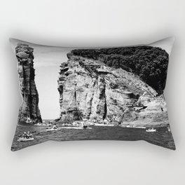 Cliff Diving event Rectangular Pillow