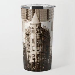 Toronto Flatiron Building Travel Mug