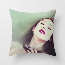 In Sync With Self Throw Pillow