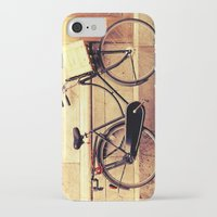 bicycle iPhone & iPod Cases featuring Bicycle by Indigo Rayz