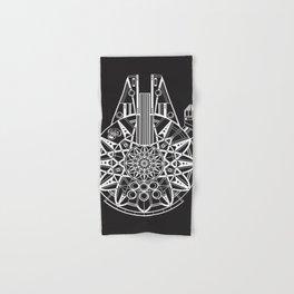 Millennium Falcon Mandala Illustration Hand & Bath Towel