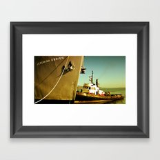 SS Jeremiah O.Brien Framed Art Print