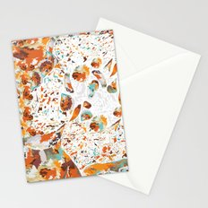 COLORFUL WINGS Stationery Cards