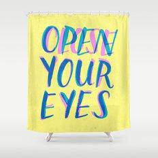 Abre/Cierra Shower Curtain