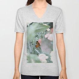 Butterfly Flutter Unisex V-Neck