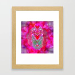 The Hearts Mantra Framed Art Print