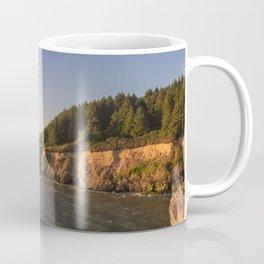 Elk Head at golden hour Coffee Mug
