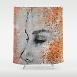 Emptiness (or... to make you happy) Shower Curtain