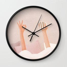Morning Coffee II Wall Clock