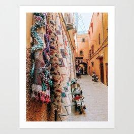 Medina calm Art Print