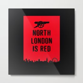 North London Metal Print