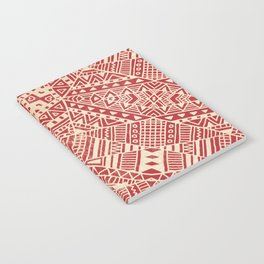 Tribal (red)  Notebook