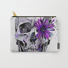 Fancy Skull Carry-All Pouch