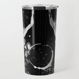 BACK TO BLACK OUD - madewithunicorndust by Natasha Dahdaleh Travel Mug