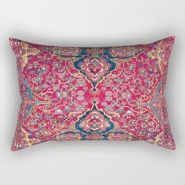 Bakhtiari West Persian Rug Print Rectangular Pillow