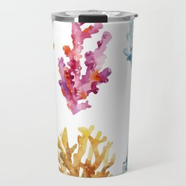 Colorful Chorals Travel Mug