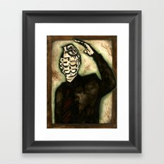 Explosive Personality Framed Art Print
