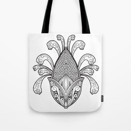 Cincalco art from the exican underworld. Tote Bag