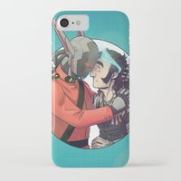 yaoi iPhone & iPod Cases featuring Comic Cover by kami dog