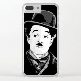 Mister Chaplin Clear iPhone Case