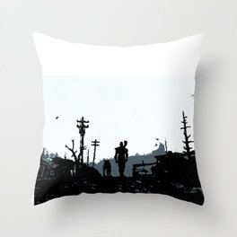 The Lone Wanderer Throw Pillow