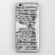 Fog and Rain: Cityscape (WHITEOUT) iPhone & iPod Skin