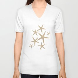Star spangled Unisex V-Neck
