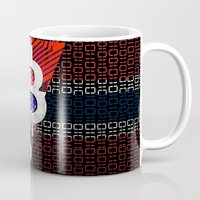 norway Mugs featuring bitcoin Norway by seb mcnulty