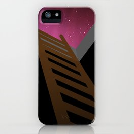 Escape to heaven - pink iPhone Case