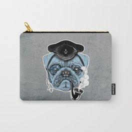 Sailor Pug Carry-All Pouch