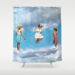 Gravity Shower Curtain