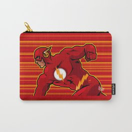 The Flash comic book graphic Carry-All Pouch