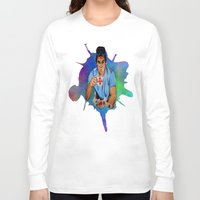 dexter Long Sleeve T-shirts featuring Dexter by Lydia Dick
