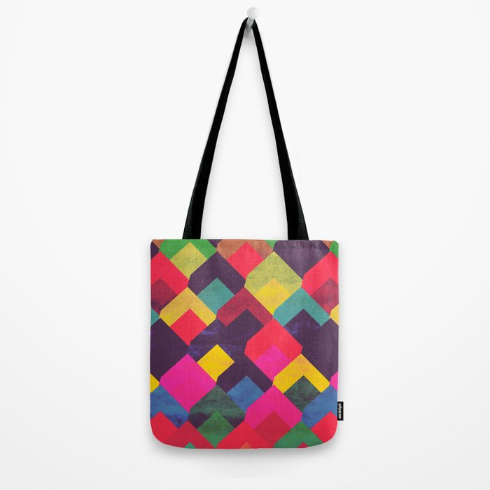 colour + pattern 11 Tote Bag