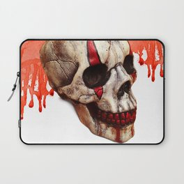 Circus Clown Skull Laptop Sleeve