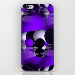 3D - abstraction -121- iPhone Skin