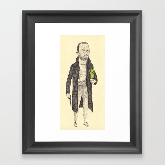 Léon Framed Art Print