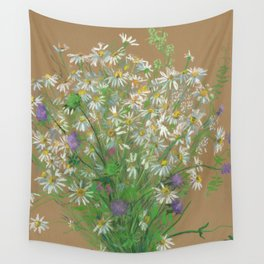 Meadow flowers Wall Tapestry