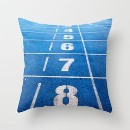 Athletics Throw Pillow