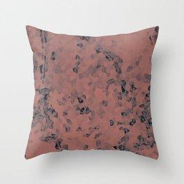 Stone coral - light Throw Pillow