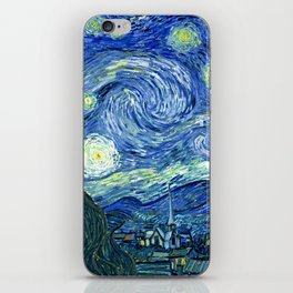 Vincent van Gogh Starry Night 1889 iPhone Skin